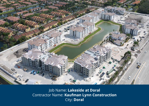 All American Windows Awarded Lakeside At Doral Project